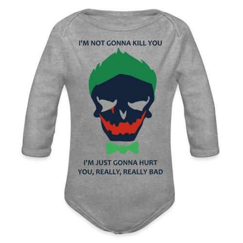 Joker - Body Bébé bio manches longues