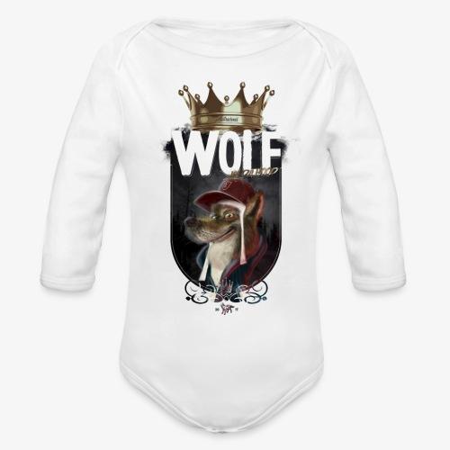 wolf - Body orgánico de manga larga para bebé