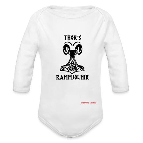 THOR's-RAMMjolnir - Body Bébé bio manches longues