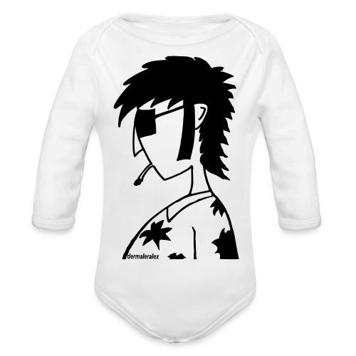hippie - Baby Bio-Langarm-Body
