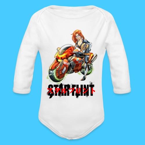 StarFlint Trixie - Body bébé bio manches longues
