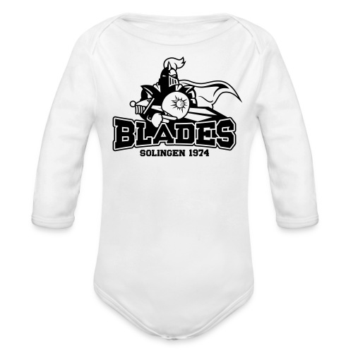 Solingen Blades Logo s - Baby Bio-Langarm-Body