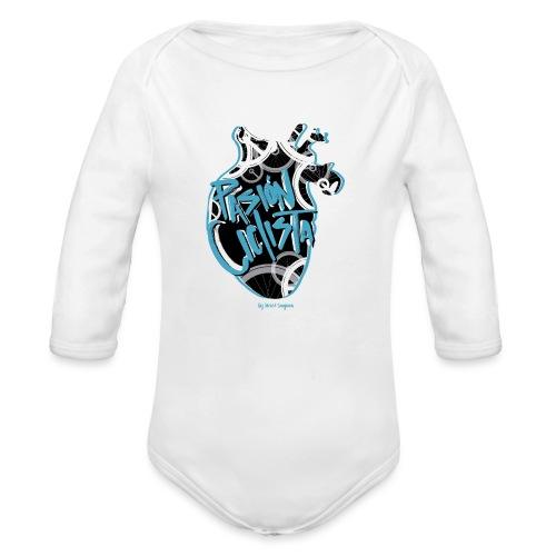 PASIÓN CICLISTA - Body orgánico de manga larga para bebé