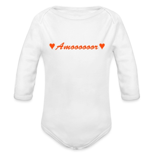Amor - Baby Bio-Langarm-Body