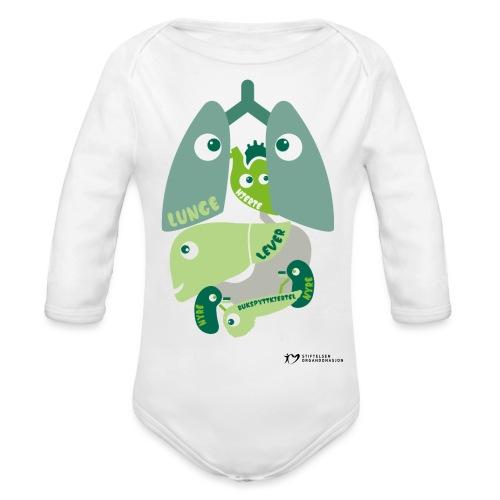 Organene - Økologisk langermet baby-body