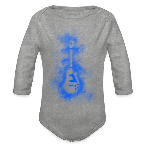 Blue Muse - Organic Longsleeve Baby Bodysuit