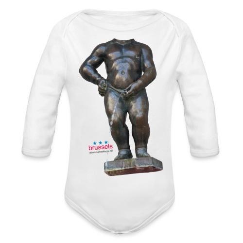mannekenpis Real Big ♀♂ | 撒尿小童 - Body Bébé bio manches longues