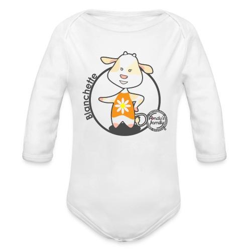 FF BLANCHETTE 01 - Baby Bio-Langarm-Body