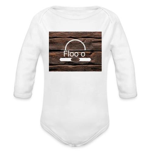 Floo o home - Body bébé bio manches longues