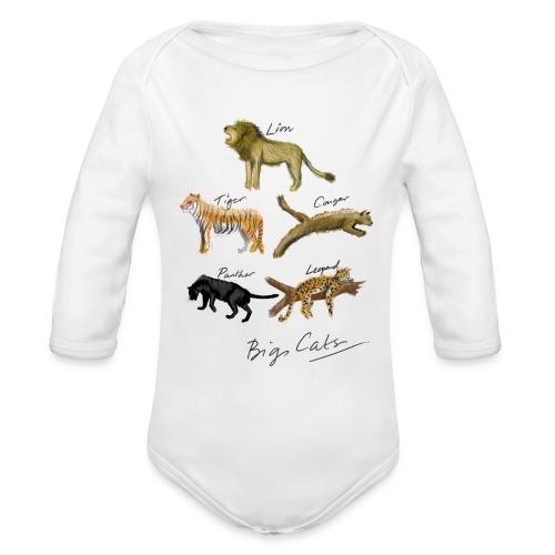 Cats - Organic Longsleeve Baby Bodysuit