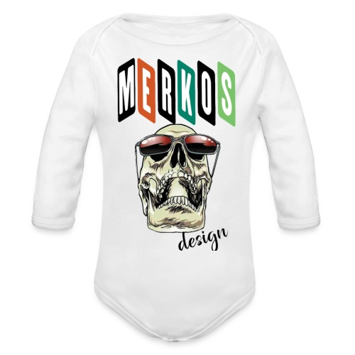 MERKOS - Body orgánico de manga larga para bebé