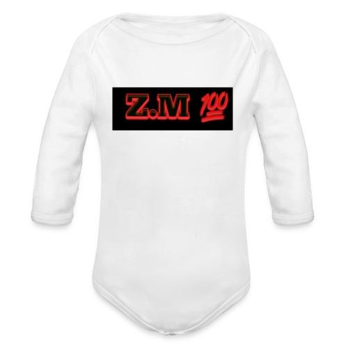 Z.M 100 - Organic Longsleeve Baby Bodysuit