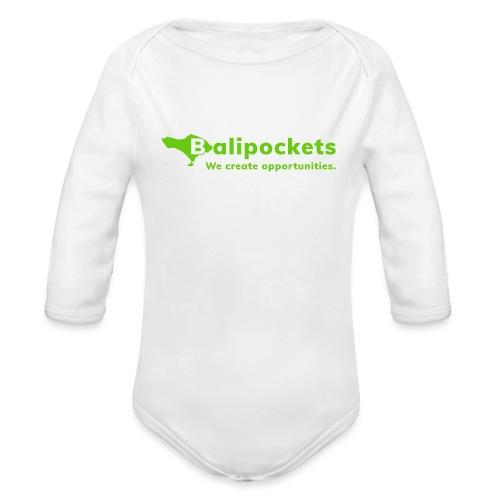 Balipockets Logo - Baby Bio-Langarm-Body
