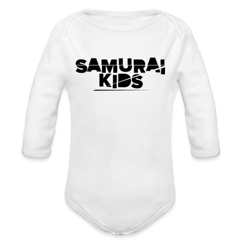 Samurai Kids - Baby Bio-Langarm-Body