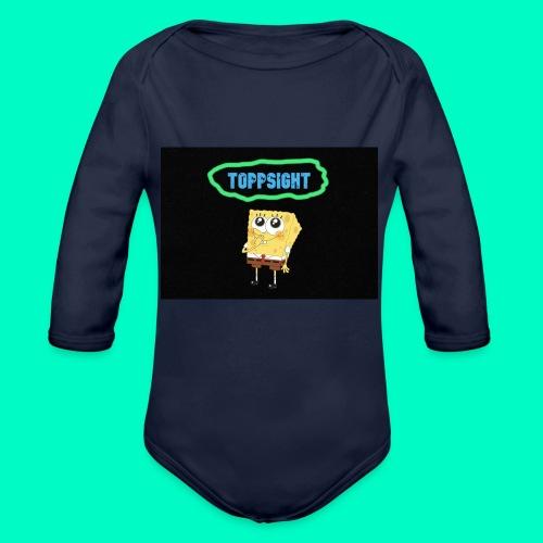 Topsight - Ekologisk långärmad babybody