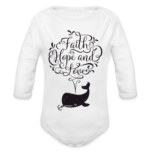 design wal copy - Baby Bio-Langarm-Body