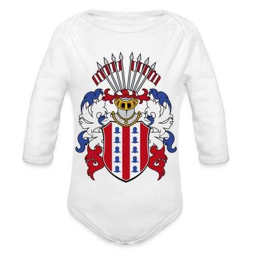 wappen amelunxen historisch - Baby Bio-Langarm-Body