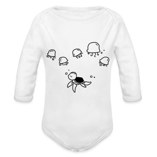 sovanta-schildkröte - Baby Bio-Langarm-Body