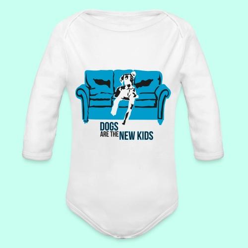 Dogs are the New Kids - Baby Bio-Langarm-Body