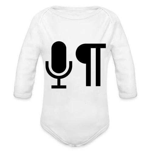 Logo der Shownot.es (@DieShownotes) - Baby Bio-Langarm-Body