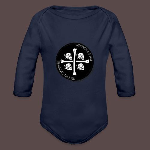 Sardegna Quattro Mori Pirata - Body ecologico per neonato a manica lunga