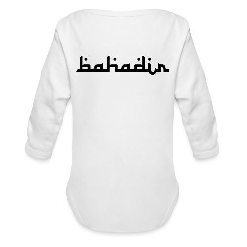 bahadir logo1 png - Baby Bio-Langarm-Body