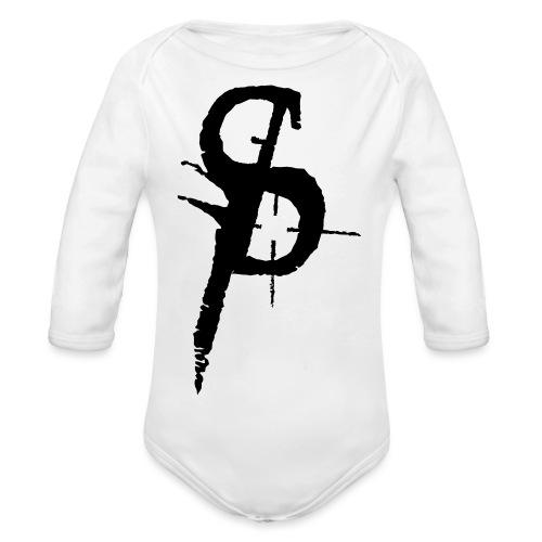 duality ps logo - Ekologisk långärmad babybody