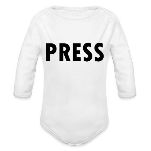 press - Baby Bio-Langarm-Body