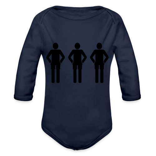 3schwarz - Baby Bio-Langarm-Body