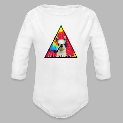 Illumilama logo T-shirt - Organic Longsleeve Baby Bodysuit