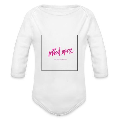 Miss Lopez logo - Ekologisk långärmad babybody