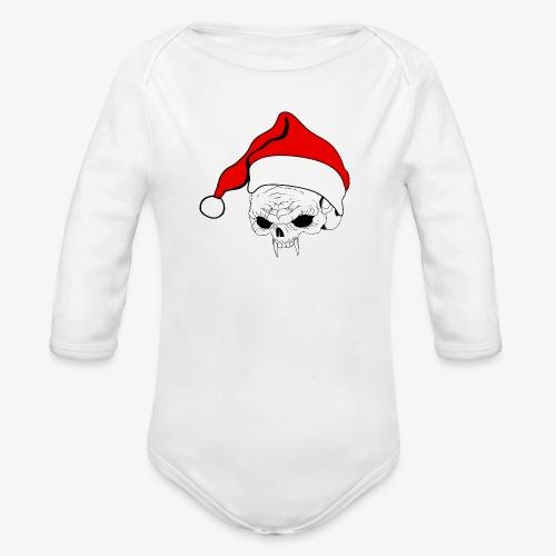 pnlogo joulu - Organic Longsleeve Baby Bodysuit