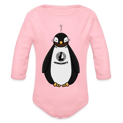 DerLeeZockt Pingu Tasse - Organic Longsleeve Baby Bodysuit