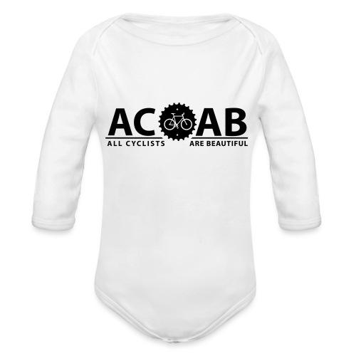 ACAB All Cyclists Are Beautiful T-Shirts - Baby Bio-Langarm-Body