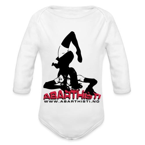 Abarthisti Pinup - Økologisk langermet baby-body