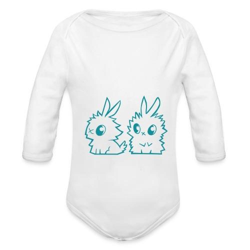 les-petits-lapins-logo - Body Bébé bio manches longues