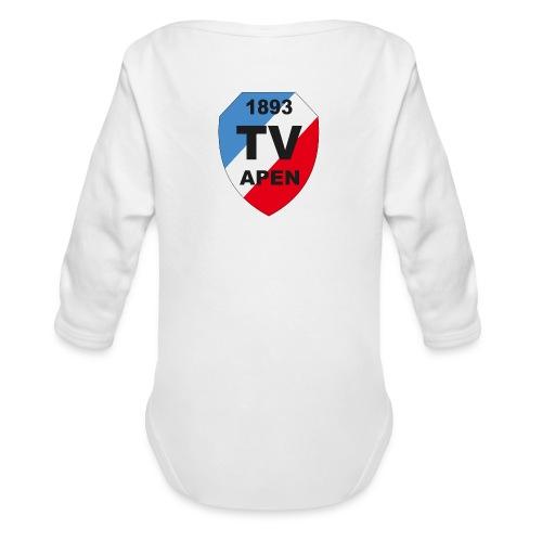 TV Apen Wappen Vektor 02 2 png - Baby Bio-Langarm-Body