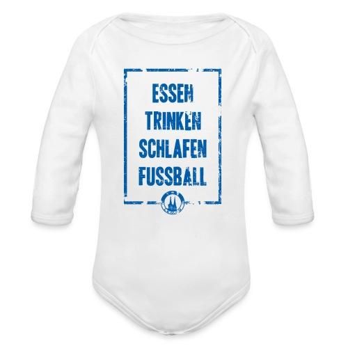 TBV Lemgo Fussball - Baby Bio-Langarm-Body