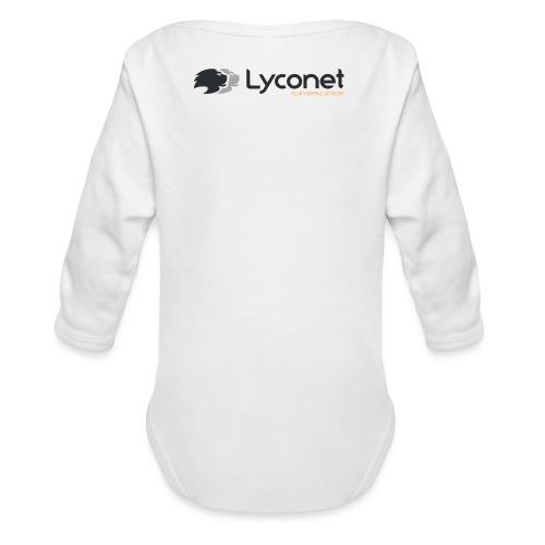 Lyconet White - Body ecologico per neonato a manica lunga