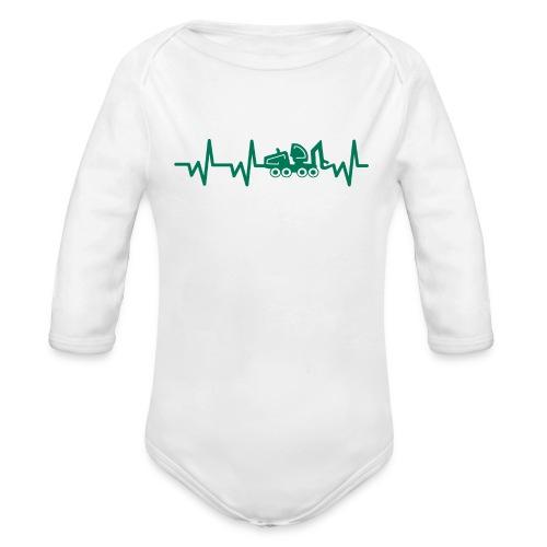 Forst | Herzschlag - Baby Bio-Langarm-Body