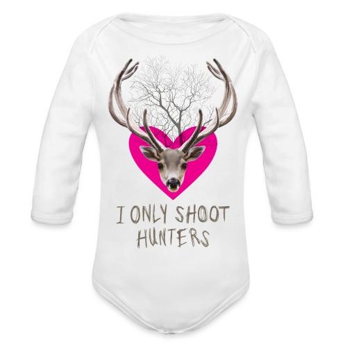 I ONLY SOOT - Organic Longsleeve Baby Bodysuit