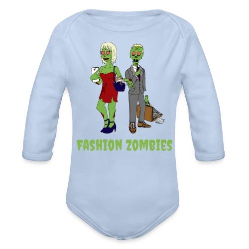 Fashion Zombie - Organic Longsleeve Baby Bodysuit