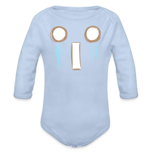 Kawaii_WhattheF_EnChantal - Organic Longsleeve Baby Bodysuit