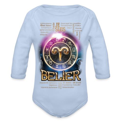 BELIER - Body Bébé bio manches longues