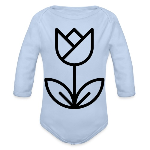 foundedroos - Organic Longsleeve Baby Bodysuit
