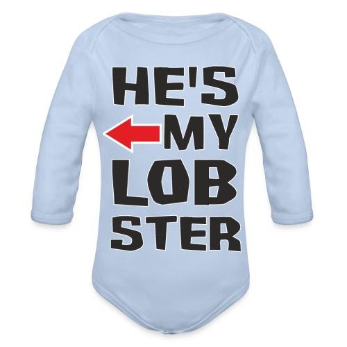 Her Lobster - Ekologiczne body niemowlęce z długim rękawem