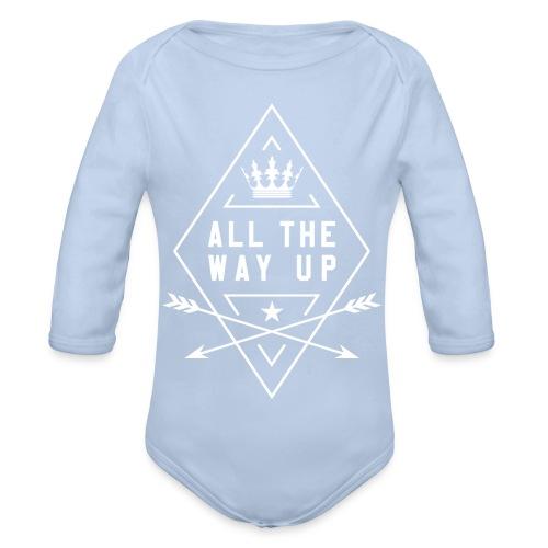 atwu_white - Organic Longsleeve Baby Bodysuit