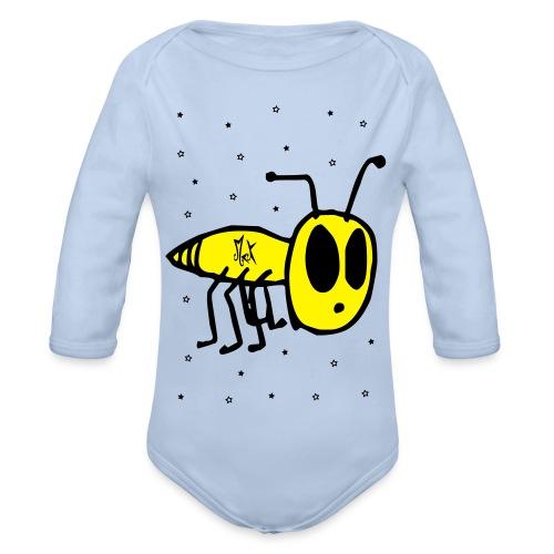 Little Fly McKoy Con Relleno - Body orgánico de manga larga para bebé