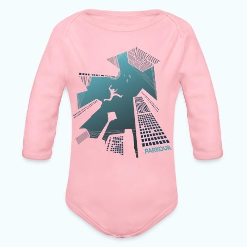Urban Parkour - Organic Longsleeve Baby Bodysuit