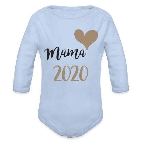 mama 2020 - Baby Bio-Langarm-Body